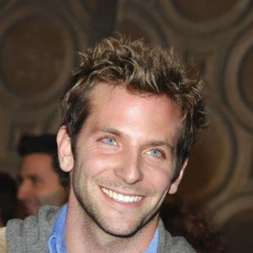 bradley cooper haircut short haircut messy curls