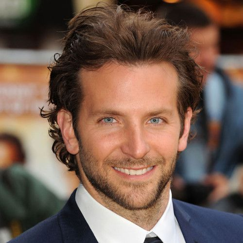 bradley cooper long hairstyles celebrity hairstyles for men