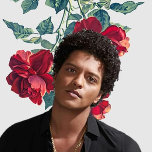bruno mars haircut curly celebrity hairstyles for men