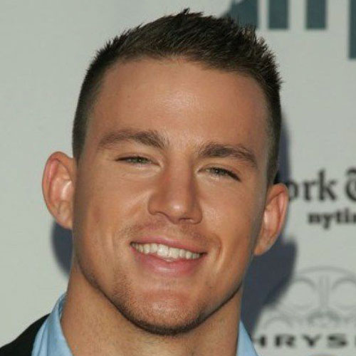 channing tatum haircut short buzz haircut