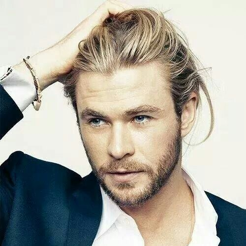 chris hemsworth haircut long hair messy celebrity hairstyles for men