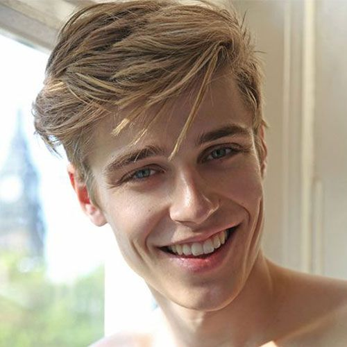 cute hairstyles for guys cool medium length hairstyle