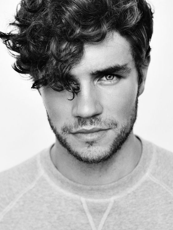 cute hairstyles for guys curly haircuts for guys