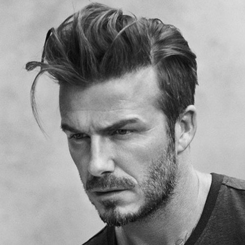david beckham haircut long haircut celebrity hairstyles for men