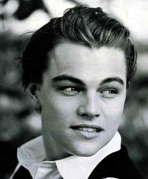 leonardo dicaprio haircut long length hairstyle