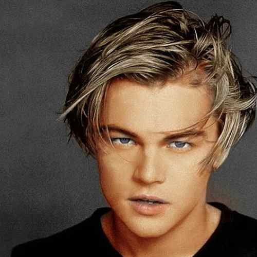 leonardo dicaprio haircut medium length hairstyles for men