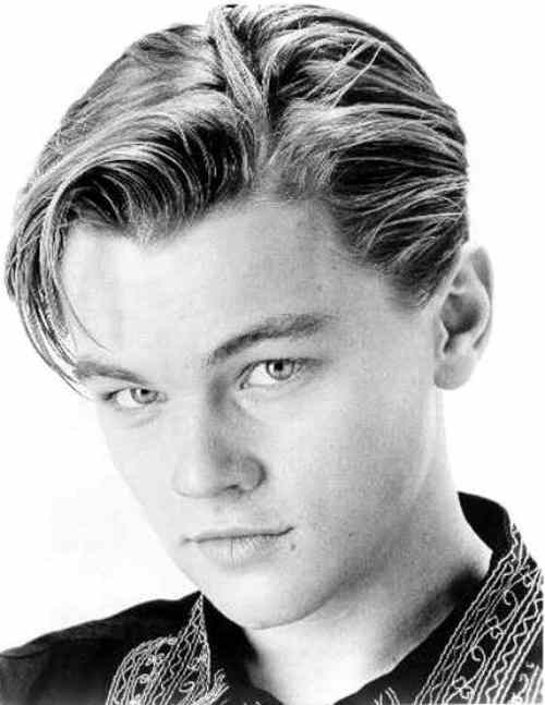 leonardo dicaprio haircut nor too short length hairstyle