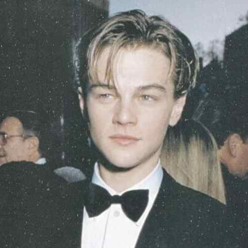 leonardo dicaprio haircut old time hairstyle