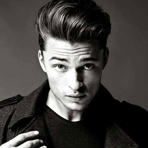 rockabilly hairstyles for men with medium hair
