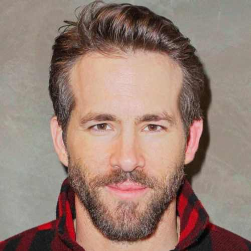 ryan reynolds haircut side pomp disconneted haircut
