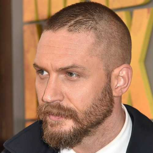 tom hardy haircut bald fade buzz cut