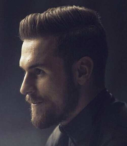 aaron ramsey beard style