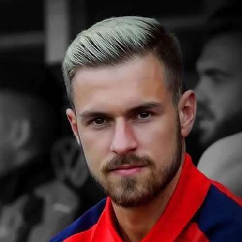 aaron ramsey hairstyle 2017