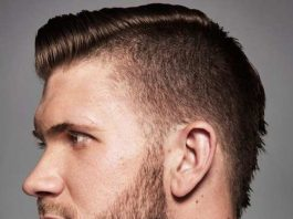 bryce harper hair short pomp with side part fade