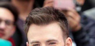 chris evans hairstyle