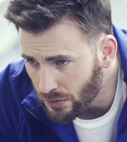 chris evans new style 2018