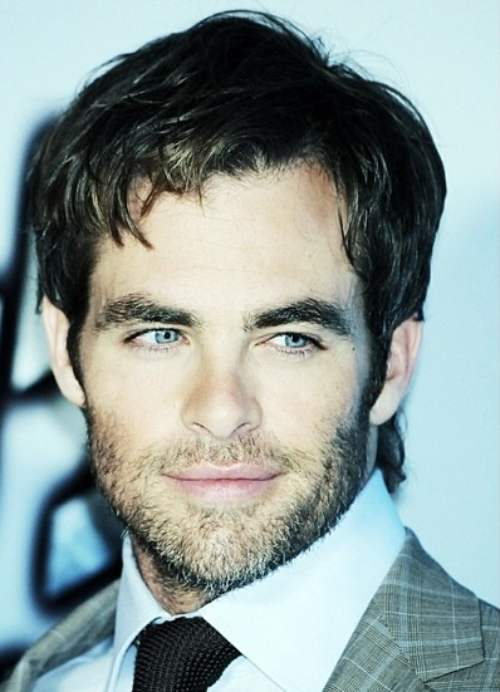 chris pine haircut length