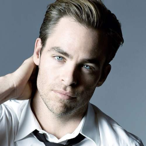 chris pine haircut short