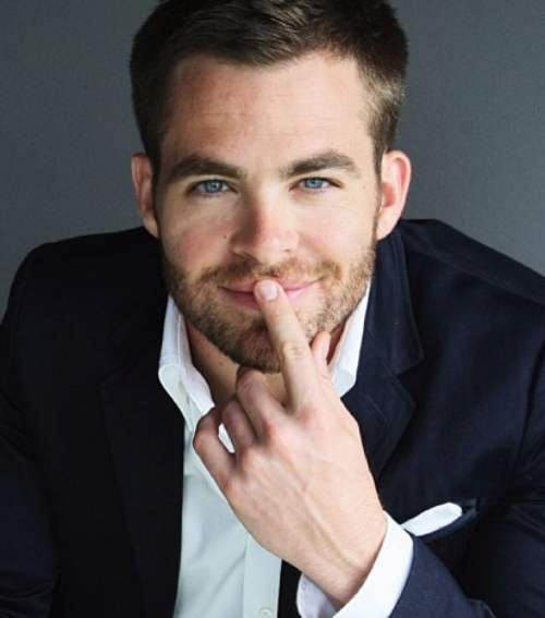 chris pine haircut star trek