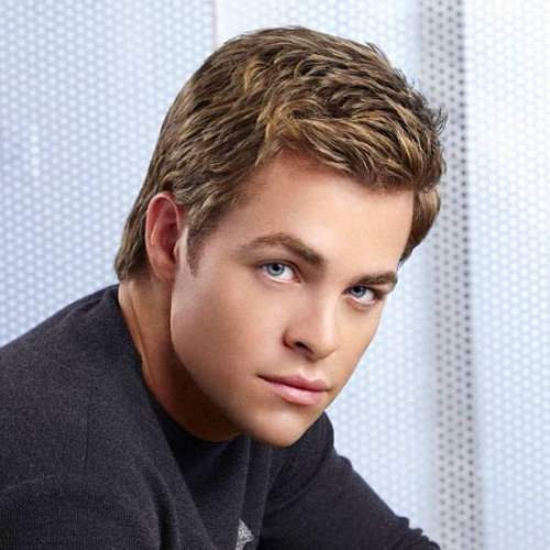 chris pine hairstyle name