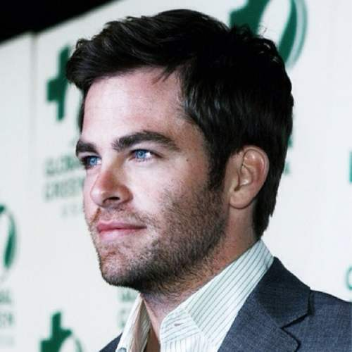 how to get chris pine haircut