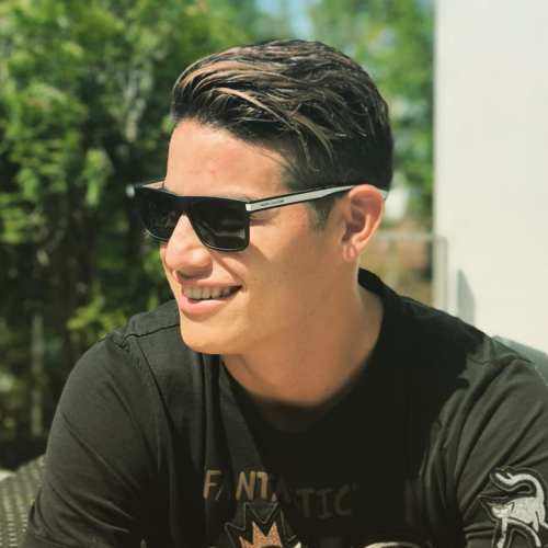 james rodriguez highlighted hair
