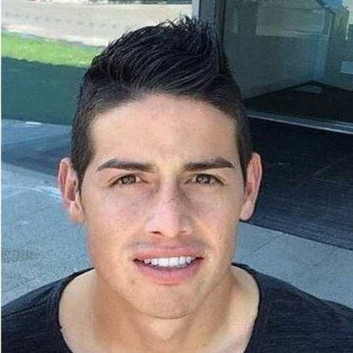 james rodriguez short spiky haircut