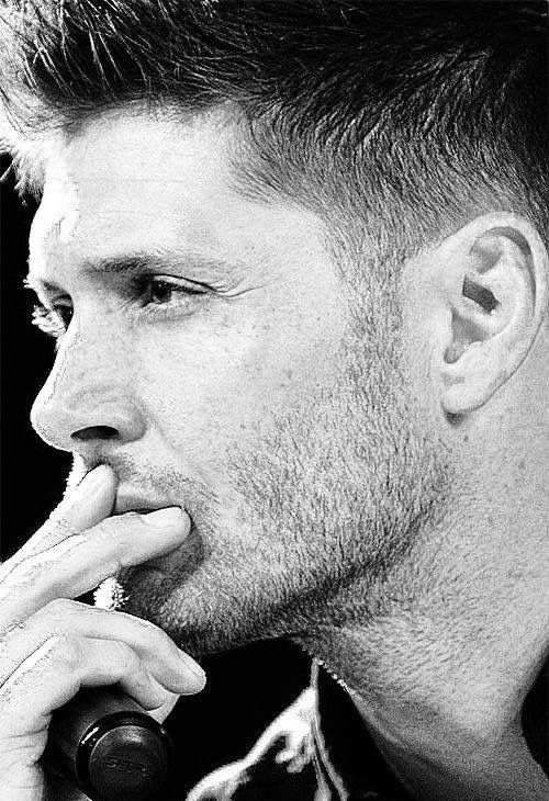 jensen ackles haircut taper fade hairstyle