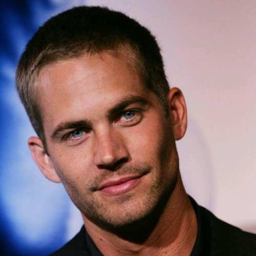 paul walker buzz cut