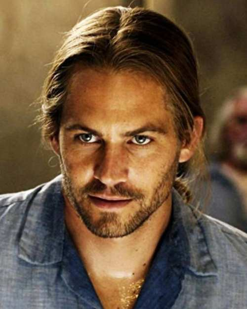 paul walker long hairstyle