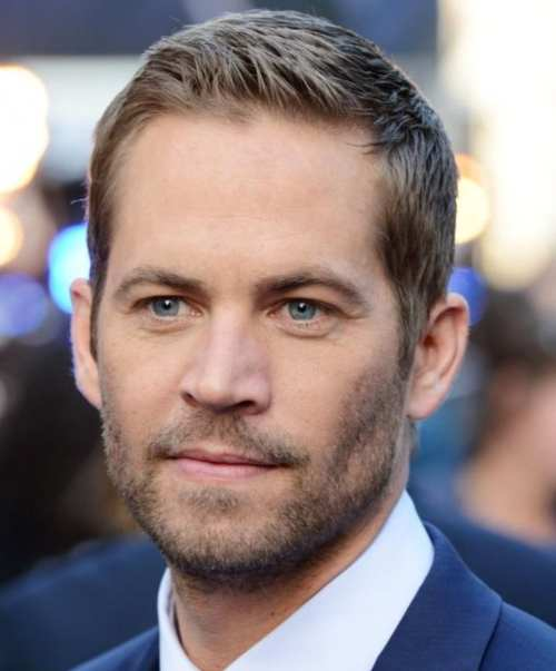 paul walker popular hairstyle