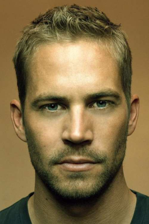 paul walker short messy haircut