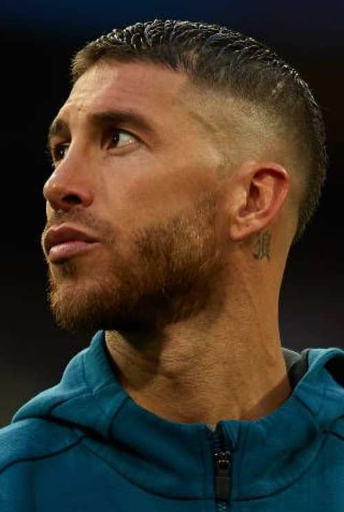 sergio ramos haircut 2018 world cup