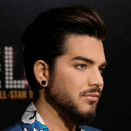 1 adam lambert latest hairstyle pompadour