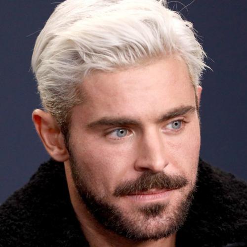 2 zac efron latest white hair style 2019
