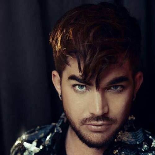 4 adam lambert messy hairstyle turorial