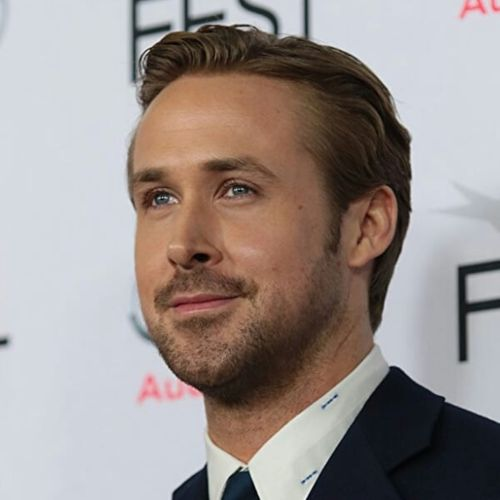 4 ryan gosling short comb hairstyle