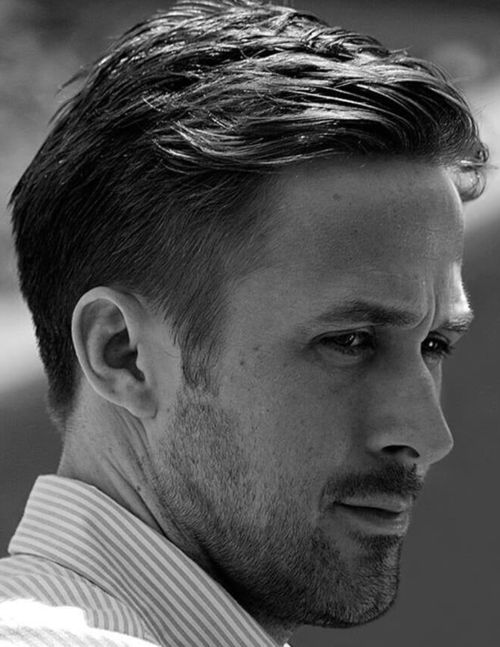 5 ryan gosling haircut side part fade haircut