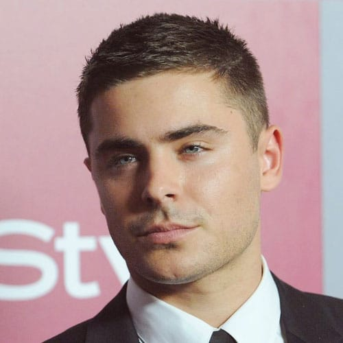 5 zac efron new haircut short crew cut spiky