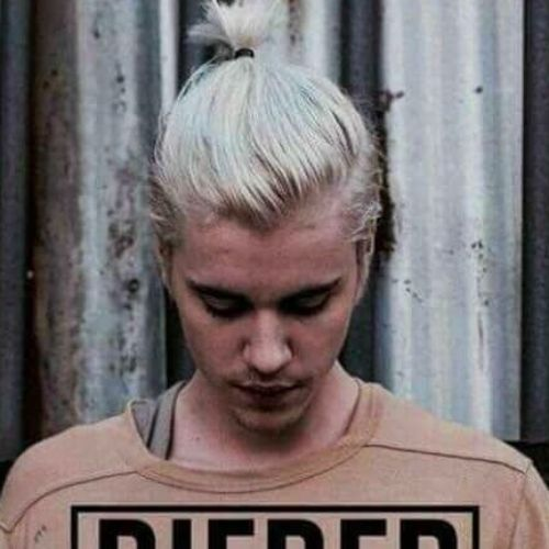 6 justin bieber haircut with ponytail