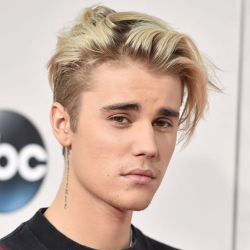 7 justin bieber haircut high textured blonde layerd