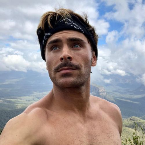 7 zac efron new haircut and mustache style