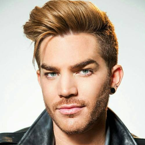 8 adam lambert High comb slicked back
