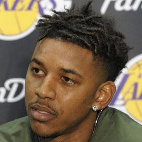 8 nick young haircut curly dreadlocks hairstyle