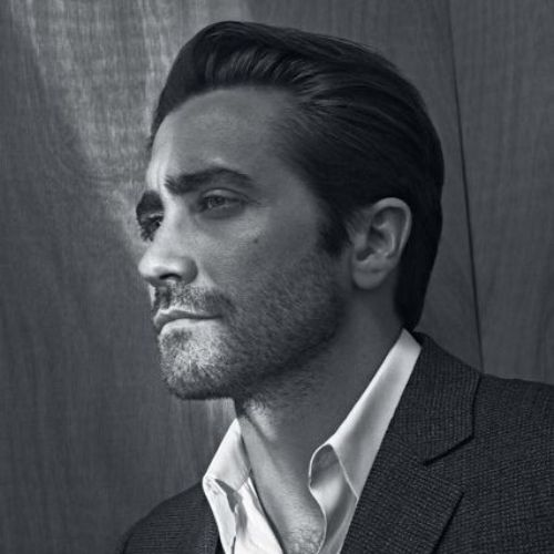 jake gyllenhaal short pompadour with long hair