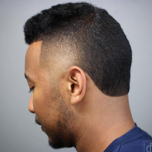 high round line up haircut
