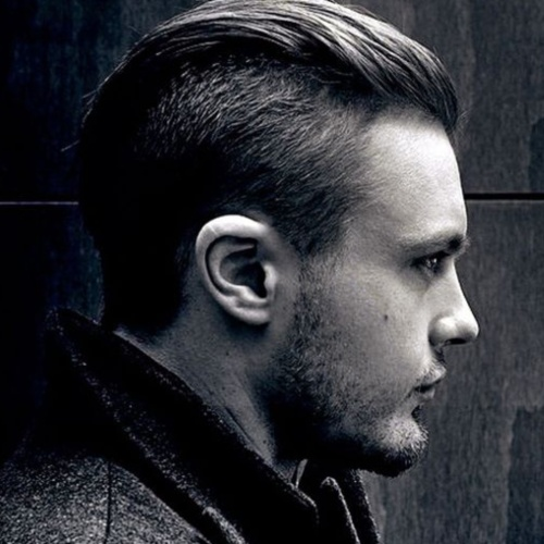 latest slicked back undercut fade hairstyles