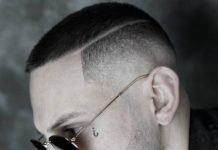 low fade haircut undercut hairstyle short haircut