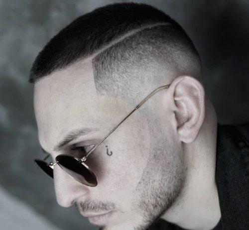 low fade haircut undercut hairstyle short haircut