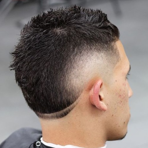 Burst Fade Haircuts Men S Hairstyles